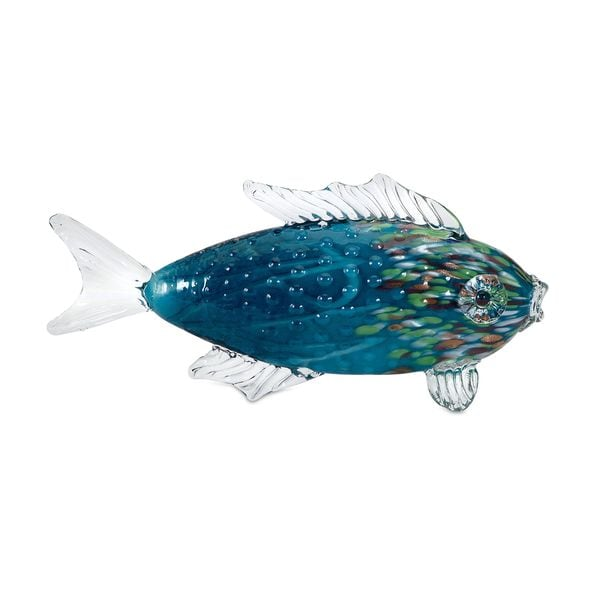 Vallarta Glass Fish Statuary