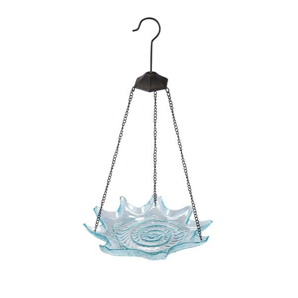 Starfish Glass Bird Feeder