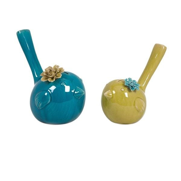 Chirp Bird Banks (Set of 2)