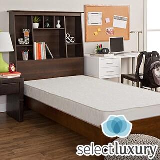 Select Luxury Dorm Reversible 7.5-inch Medium Firm Twin-size Foam Mattress