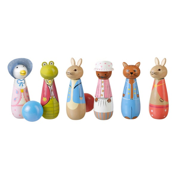 Orange Tree Toys Peter Rabbit Handcrafted Wooden Skittles