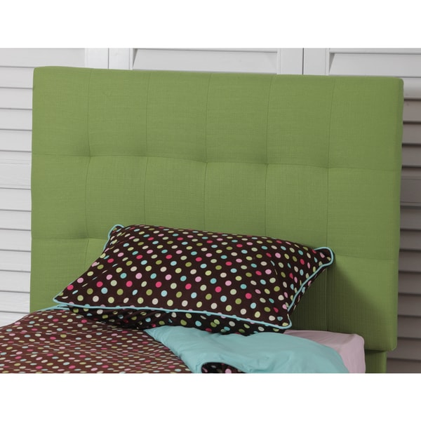 Powell Freya Green Quilted Twin Headboard