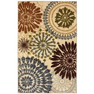 Mohawk Home Free Flow Floral Mix Rug (7'6 x 11')