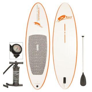 Pathfinder S-I 274 Orange and White Stand-up Paddle Board SUP Kit