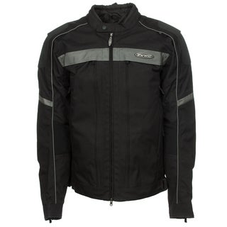 Harley-Davidson 98378-12VT Mens Waterproof FXRG Black Nylon Jacket