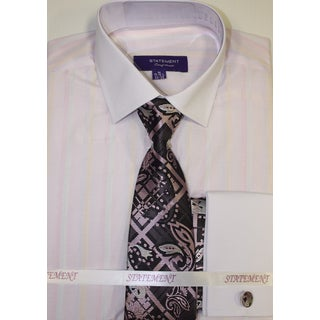 SH-815 Pink Shirt, Tie, and Hankie Set