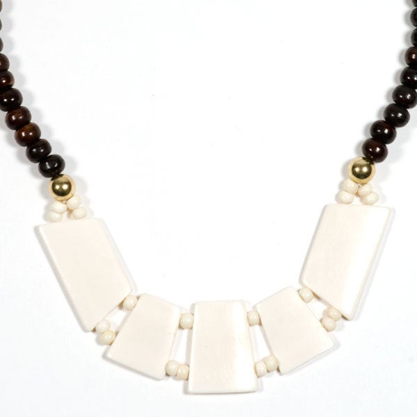 Boomika Black & White Necklace