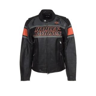 Harley-Davidson 98056-13VM Rumble Black Leather Jacket