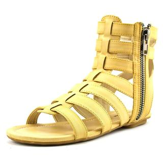 Michael Antonio Women's 'Debbie' Leather Sandals