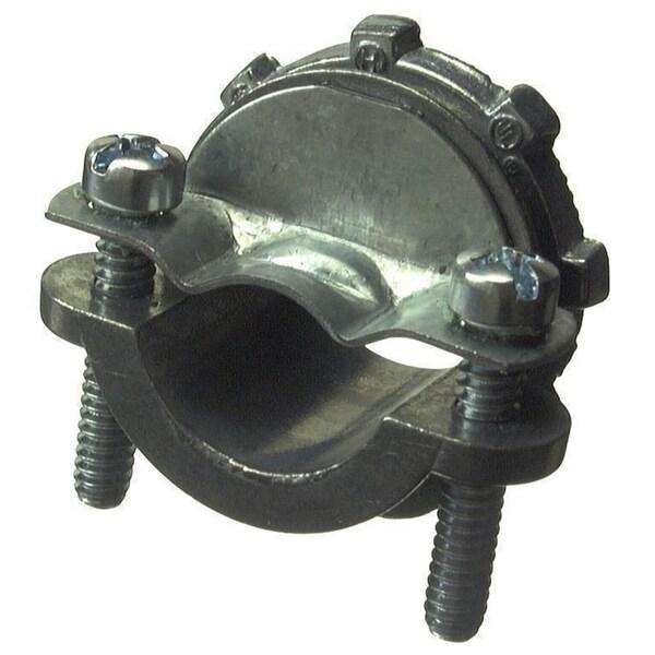 "Halex 90514 1-1/4"" Zinc Clamp Connector For Nonmetallic Cable"