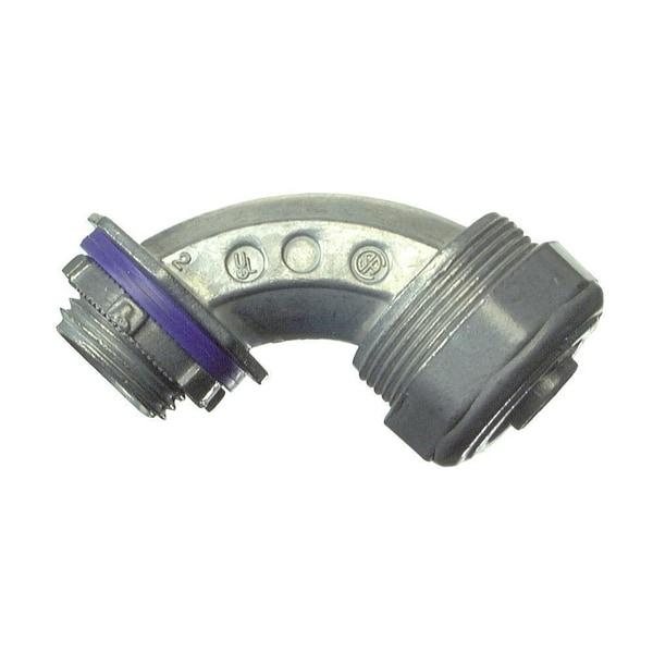"Halex 91697 3/4"" 90 Liquid-Tight Connector"