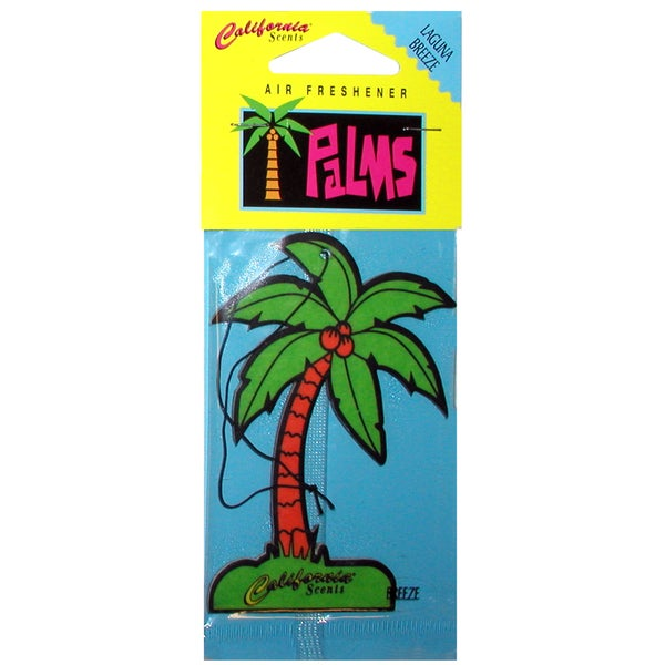 California Scents HO-1202 MC Laguna Breeze Palms Hang Outs Car Air Freshener