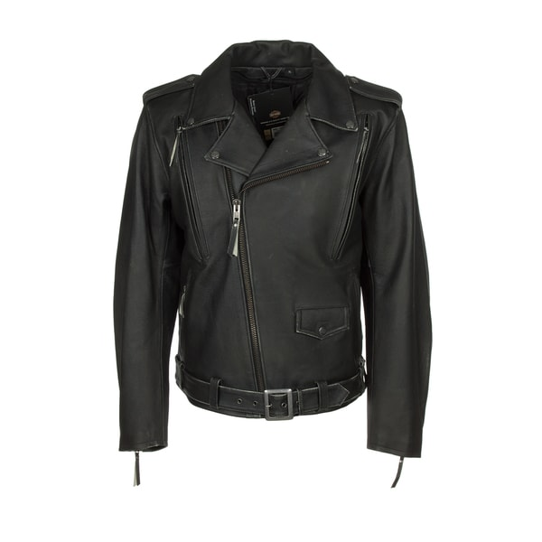Harley-Davidson 98035-12VM El Camino II Mens Black Leather Jacket