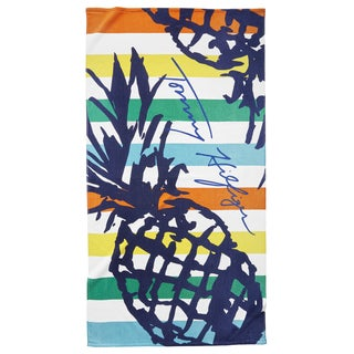 Tommy Hilfiger Striped Pineapple Beach Towel