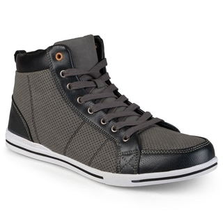 Vance Co. Men's 'Oliver' Lace-up High Top Sneakers