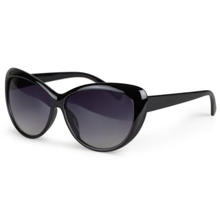 Journee Collection Women's Cat Eye Plastic Sunglasses