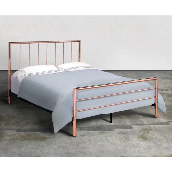 Furniture Of America Hollander Contemporary Rose Gold