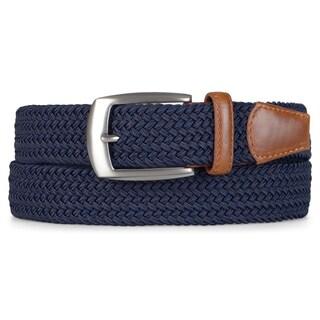 Vance Co. Men's Stretch Woven Belt