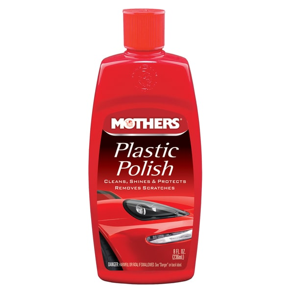 Mothers 06208 8 Oz Plastic Polish