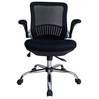 Magtec RJ-9000 Black Nylon and Metal Office Chair