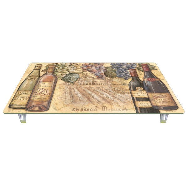 CounterArt Vineyards 'Instant Counter' Glass Cutting Board Counter Saver