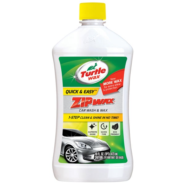Turtle Wax T75A 16 Oz Zip Wax Car Wash