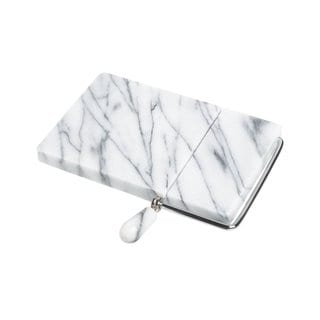 Fox Run Brands White Marble 8 x 5-inch Cheese Slicer with 2 Free Replacement Wires