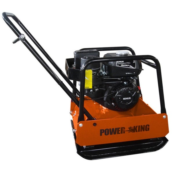 PowerKing 3,500-pound Plate Compactor 18342852