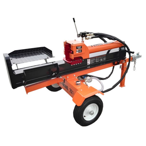 PowerKing 22-ton Horizontal/Vertical Log Splitter
