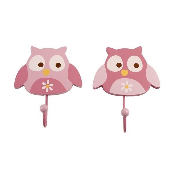 NoJo Owl Girl Wall Hooks