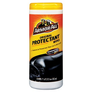 Armor All 10861 6 1/2-inch X 9-inch Armor All Protectant Wipes 25-count
