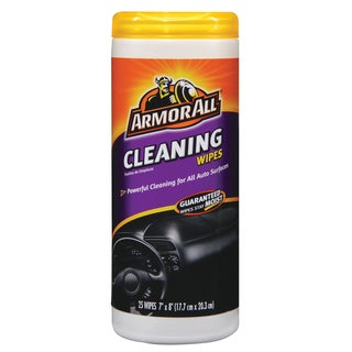 Armor All 10863 6 1/2-inch X 9-inch Armor All Cleaning Wipes 25-count