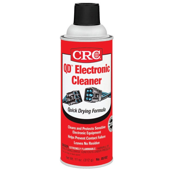 CRC 05103/05102 11 Oz Electronics Cleaner