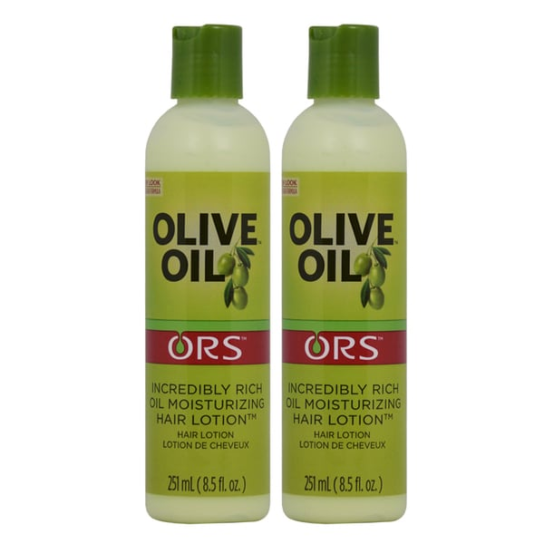 ORS Organic Root Stimulator 8.5 oz. Olive Oil Enriched Moisturizing Hair Lotion (Pack of 2) 18343736