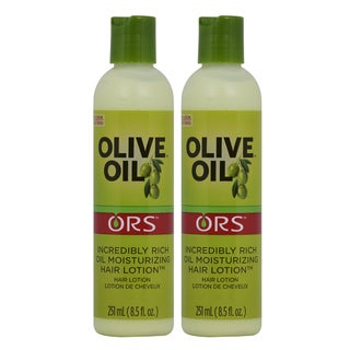 Organic Root Stimulator 8.5-ounce Olive Oil Enriched Moisturizing Hair Lotion (Pack of 2)