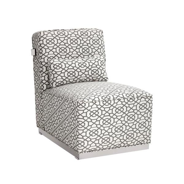 Sunpan Brosnan SS Diamon Fabric Chair