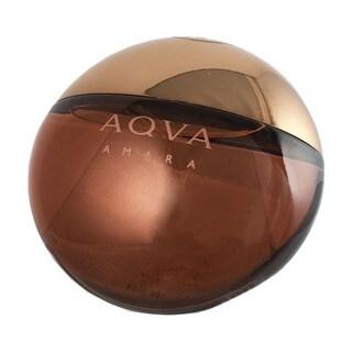 Bvlgari Aqva Amara Men's 3.4-ounce Eau de Toilette Spray (Tester)