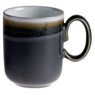 Denby Double Dip Jet Grey Stoneware 10-ounce Mug