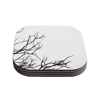 Skye Zambrana 'Winter' Coasters (Set of 4)