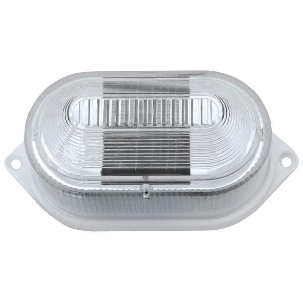 Paradise GL23901WH2 White Plastic Multi Purpose Solar LED Light 2-count