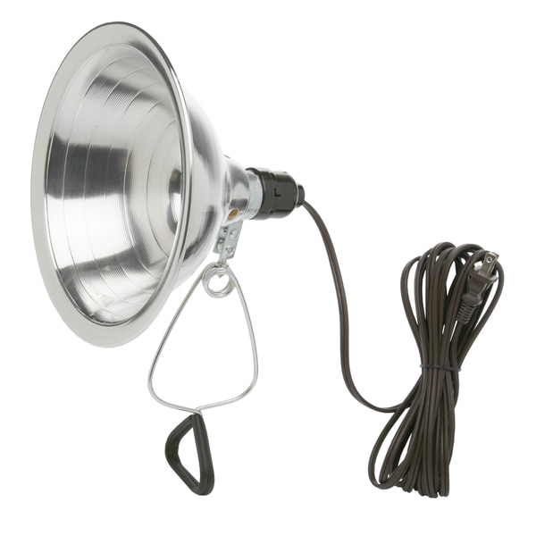 "Woods 00169 8.5"" Reflector Clamp Light With 6' Cord"