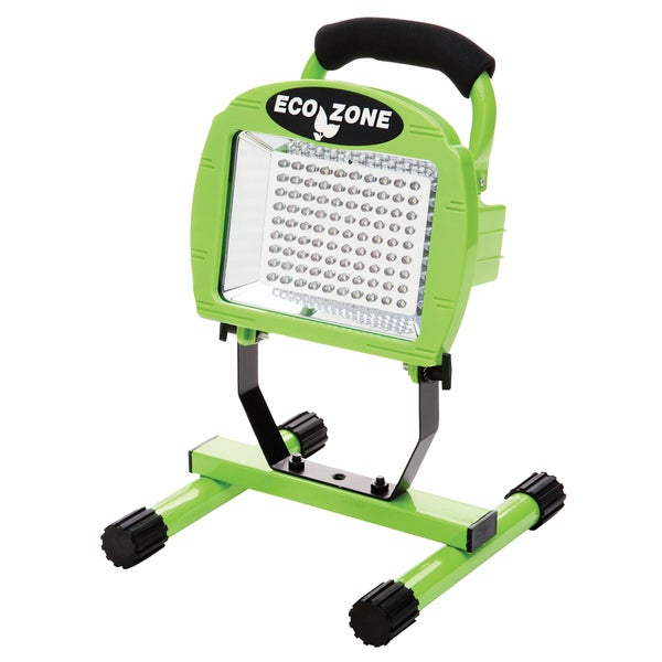 Eco Zone L1313 Bright Green Rechargeable Portable LED Worklight