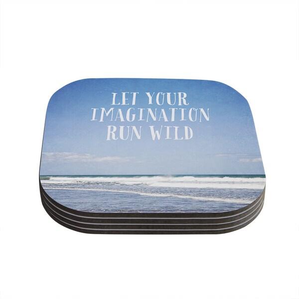 Susannah Tucker 'Let Your Imagination Run Wild' Ocean Coasters (Set of 4)