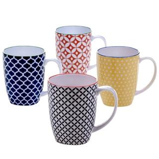 Certified International Mix & Match Soho Mugs (Set of 4)