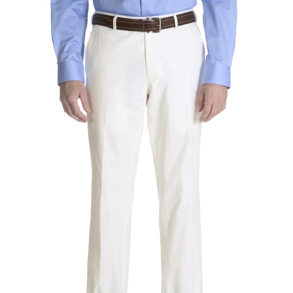 Daniel Hechter Men's Cotton Modern-fit Suit Pants Separate