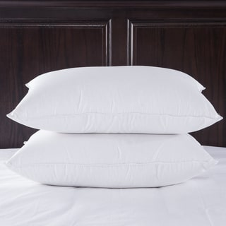 Puredown Luxury 400 Thread Count Egyptian Cotton White Goose Down Pillow