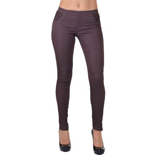 Form Fitting Side Lace Legging Pants