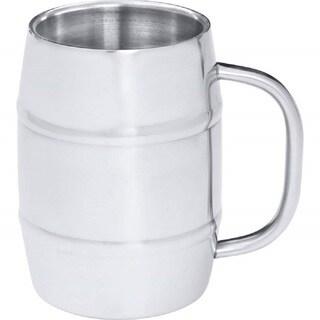 Arctic Blast KTBMUG4 Stainless Steel 34-ounce Barrel-Shaped Beer Mug KTBMUG4