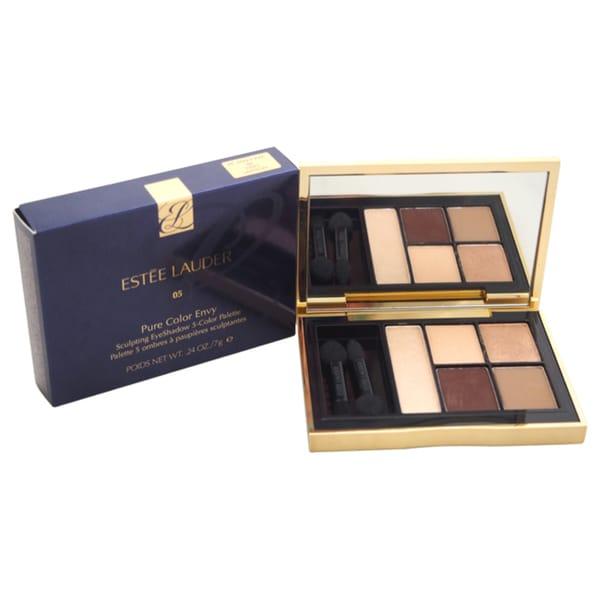 Estee Lauder Pure Color Envy Sculpting Eyeshadow Fiery Saffron 5-color Palette