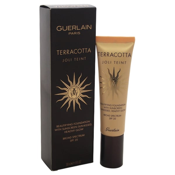 Guerlain Terracotta Joli Teint Beautifying Foundation with Sunscreen
